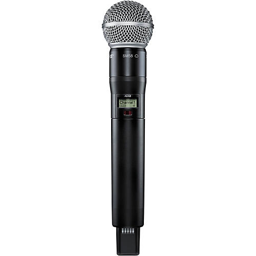 Shure Axient Digital ADX2/SM58 Wireless Handheld Microphone Transmitter With SM58 Capsule