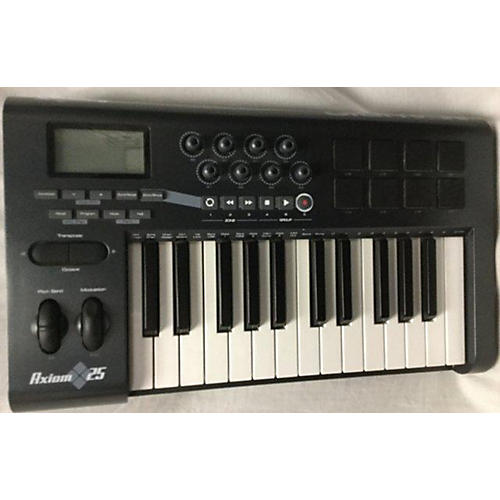 used m audio axiom 25 key midi controller guitar center. Black Bedroom Furniture Sets. Home Design Ideas