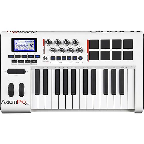 m audio axiom pro 25 usb midi keyboard controller guitar center rh guitarcenter com M-Audio Keystation 61 M-Audio Axiom 25 Keyboard