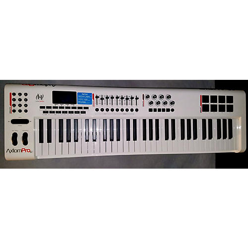Used M Audio Axiom Pro 61 Key Midi Controller Guitar Center