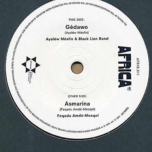 Alliance Ayalew Astatke - Ghedawou / Asmarina