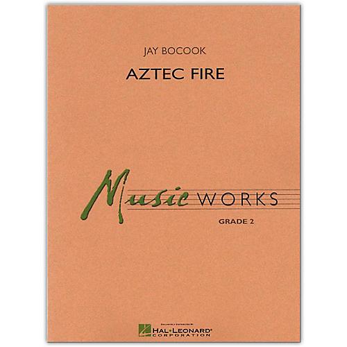 Hal Leonard Aztec Fire MusicWorks Concert Band Grade 2 Book/Online Audio