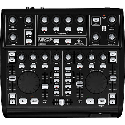 Behringer B-Control DeeJay BCD3000 DJ Mixer