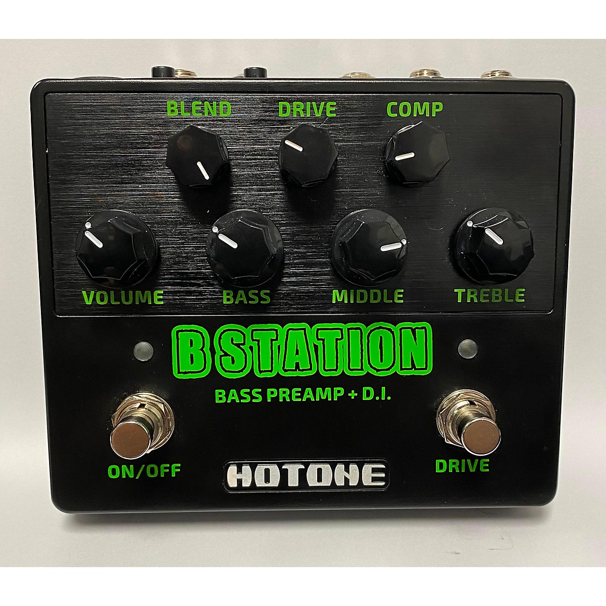 Hotone Effects B Station Bass Effect Pedal