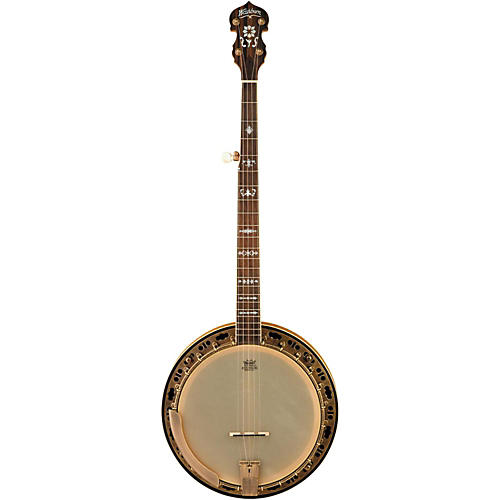 Washburn B120 Natural Distressed 5-String Banjo w/case