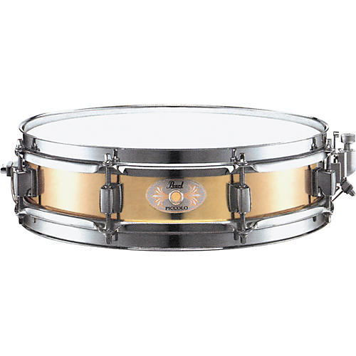 pearl b1330 brass piccolo snare drum guitar center. Black Bedroom Furniture Sets. Home Design Ideas