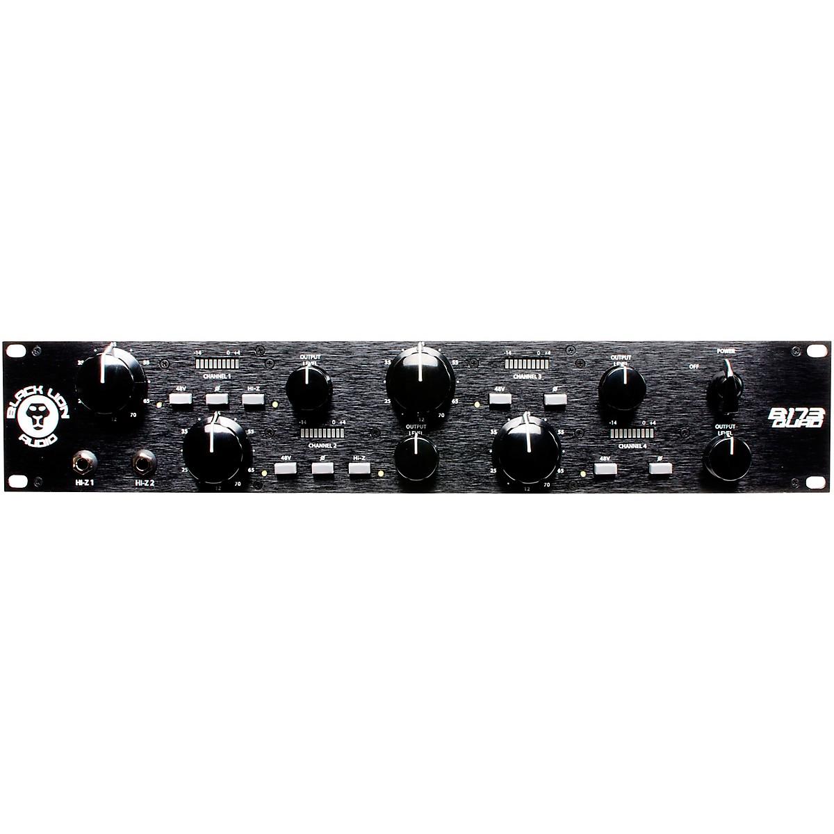 Black Lion Audio B173Quad 4-Channel Mic Pre