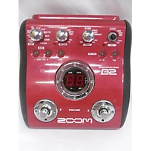 Zoom B2 Bass Effect Pedal