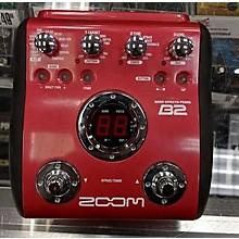 Zoom B2 Bass Effect Processor