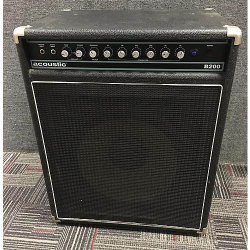 Acoustic B200 200W 1x15 Bass Combo Amp