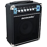 Acoustic B25C 1X8 25W Bass Combo with Tilt-Back Cab Black