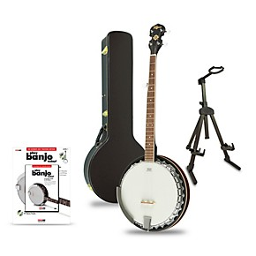 Rogue B30 Deluxe 30-Bracket Banjo with Aluminum Rim Regular - Beginner's  Package