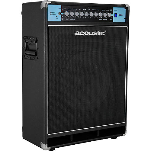 Acoustic B300C 1X15 300W Bass Combo with Tilt-Back Cabinet