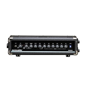 acoustic b300h 300w bass amp head black guitar center. Black Bedroom Furniture Sets. Home Design Ideas