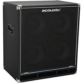 acoustic b410c classic 400w 4x10 bass speaker cabinet black guitar center. Black Bedroom Furniture Sets. Home Design Ideas