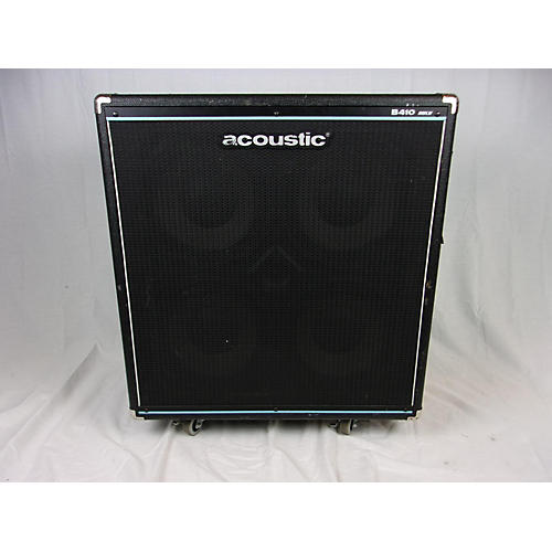 used acoustic b410mkii 4x10 bass cabinet guitar center. Black Bedroom Furniture Sets. Home Design Ideas