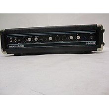 Acoustic B600H Bass Amp Head