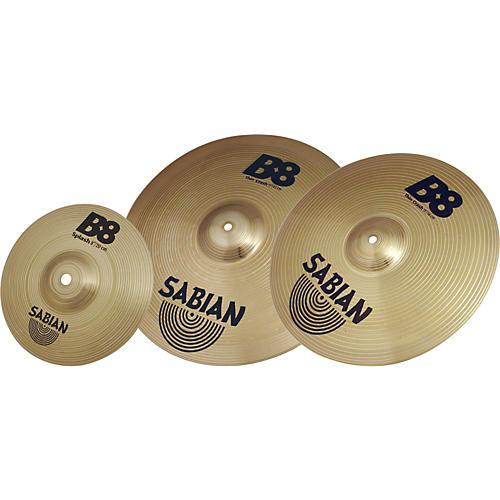 sabian b8 crash cymbal pack guitar center. Black Bedroom Furniture Sets. Home Design Ideas