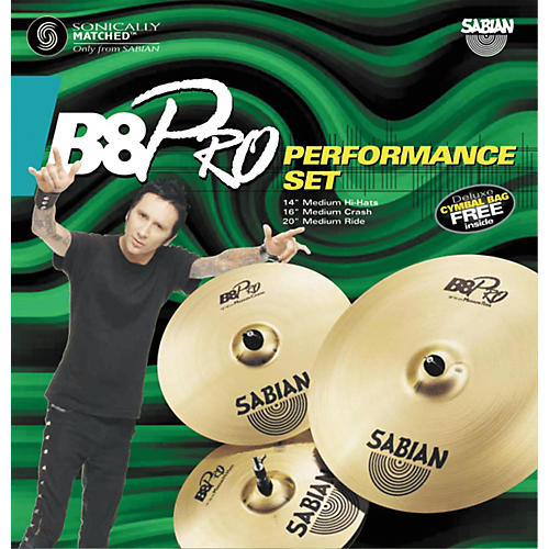 sabian b8 pro cymbal performance pack guitar center. Black Bedroom Furniture Sets. Home Design Ideas
