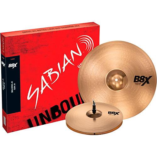 Sabian B8X 2-Pack