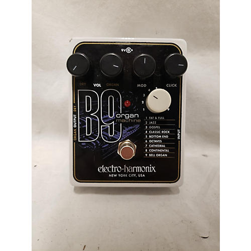 used electro harmonix b9 organ machine effect pedal guitar center. Black Bedroom Furniture Sets. Home Design Ideas