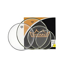 """Remo BA Pro Pack 10"""", 12"""" and 16"""" Clear with Free 14"""" Hazy"""