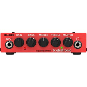 tc electronic bam 200 200w bass amp head guitar center. Black Bedroom Furniture Sets. Home Design Ideas