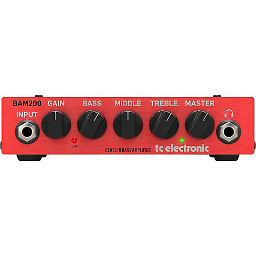 TC Electronic BAM 200 200W Bass Amp Head