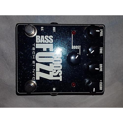 Tech 21 BASS BOOST FUZZ Bass Effect Pedal