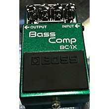 Boss BASS COMP BC1X Effect Pedal