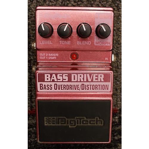 Digitech BASS DRIVER Bass Effect Pedal