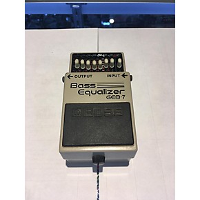 used boss bass equalizer geb 7 bass effect pedal guitar center. Black Bedroom Furniture Sets. Home Design Ideas