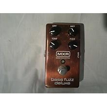 MXR BASS FUZZ DELUXE Effect Pedal