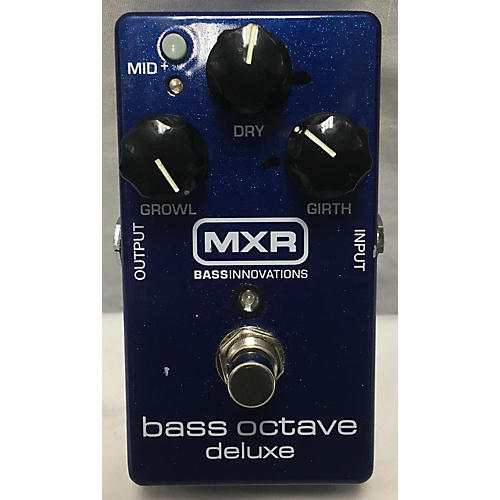 MXR BASS OCTAVE DELUXE Effect Pedal