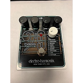 used electro harmonix bass9 bass machine bass effect pedal guitar center. Black Bedroom Furniture Sets. Home Design Ideas