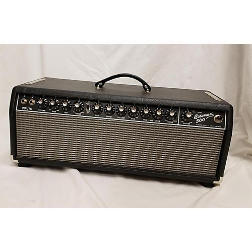 used fender bassman 500 solid state guitar amp head guitar center. Black Bedroom Furniture Sets. Home Design Ideas