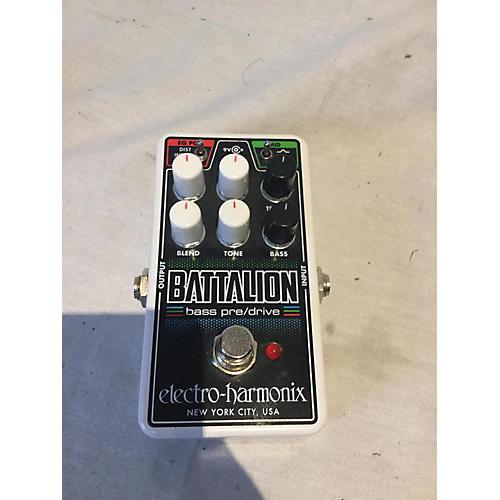 Electro-Harmonix BATTALION BASS PRE/DRIVE Effect Pedal