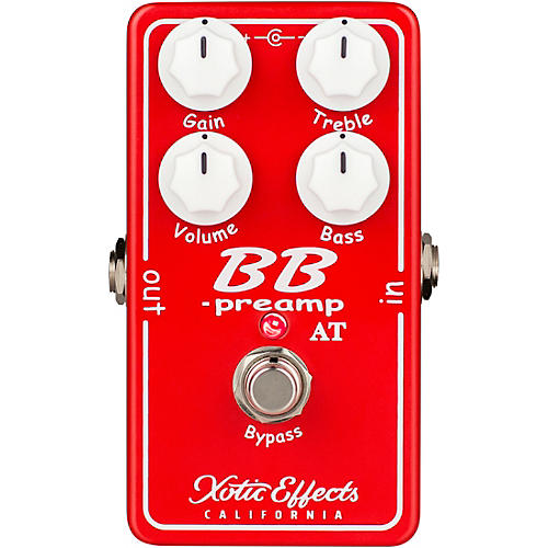 Xotic BB-Preamp Andy Timmons Limited Edition Preamp Effects Pedal