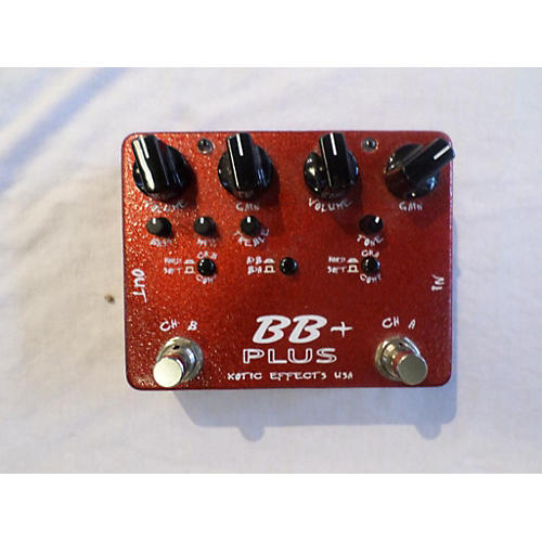 Xotic BB+ Preamp Effect Pedal