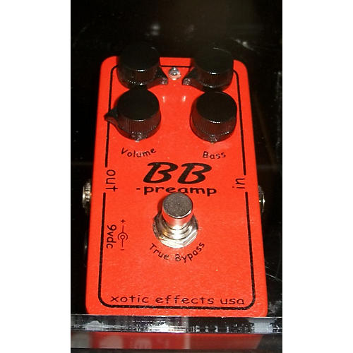 Xotic Effects BB Preamp Overdrive Effect Pedal
