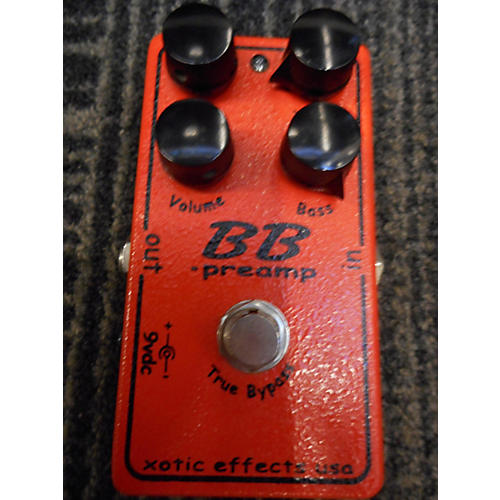 Xotic BB Preamp Overdrive Effect Pedal