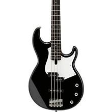 BB234 Electric Bass Black White Pickguard