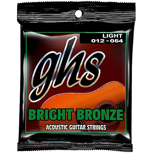 GHS BB30L 80/20 Bronze Acoustic String 3-Pack