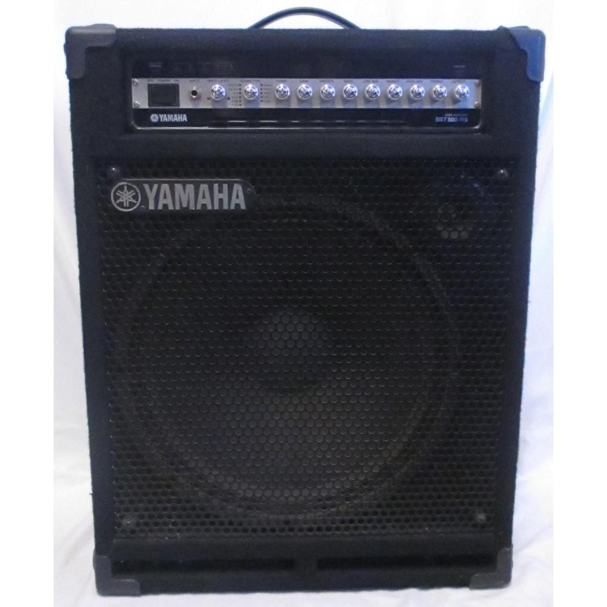 Yamaha BBT 500 115 Bass Combo Amp