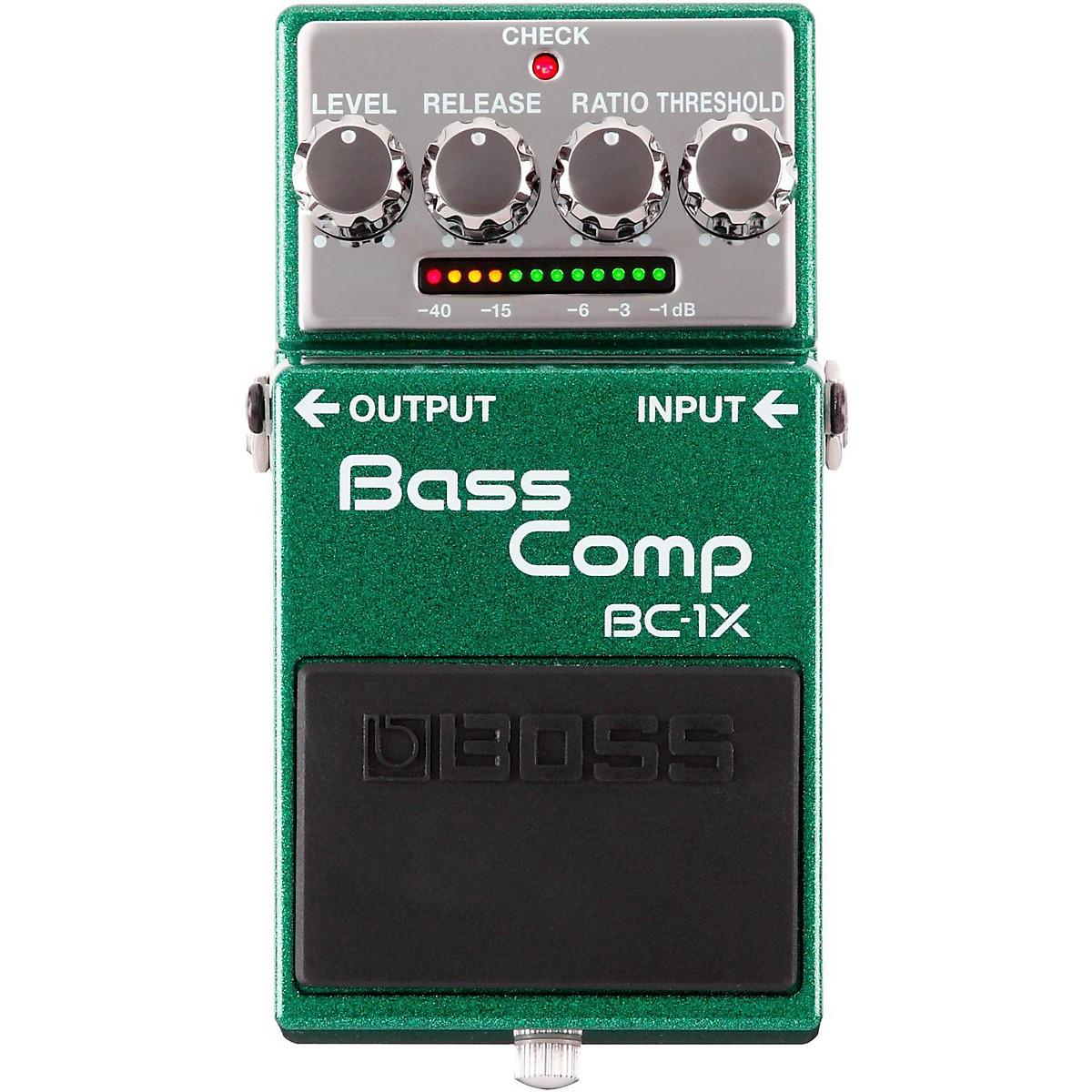 Boss BC-1X Bass Compressor Effects Pedal