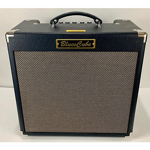 Roland BC-HOT-BKM-Blues Cube-Boss Drive Guitar Combo Amp