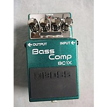 Boss BC1X Bass Comp Effect Pedal