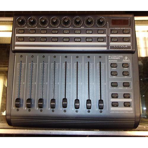 Behringer BCF2000 MIDI Utility