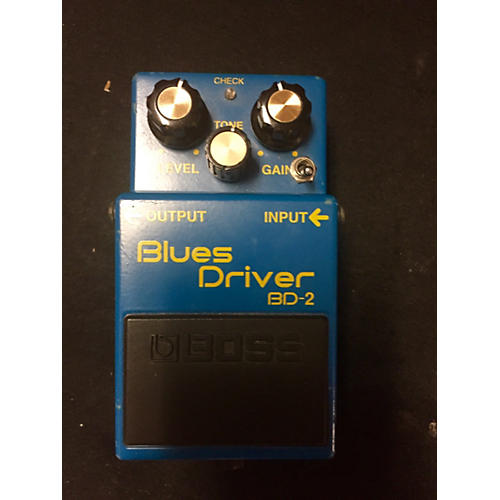 Boss BD2 Blues Driver With Mod