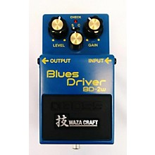 Boss BD2W Blues Driver Waza Craft Effect Pedal